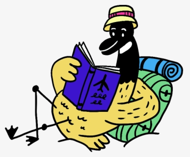 Free Summer Reading Clip Art with No Background.