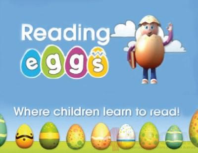 Reading Eggs Clipart.