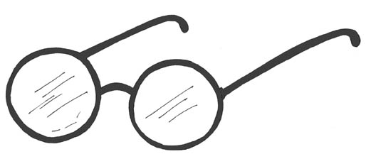 Reading Glasses Clipart.