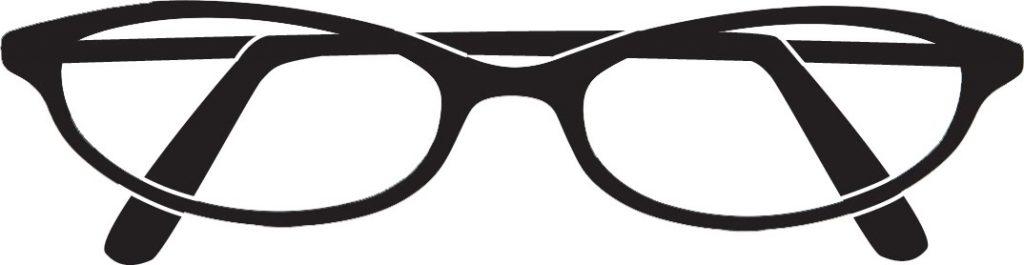 Reading Glasses Clip Art.