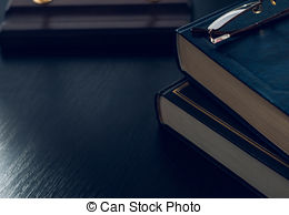 Stock Photography of reading habit or studying.