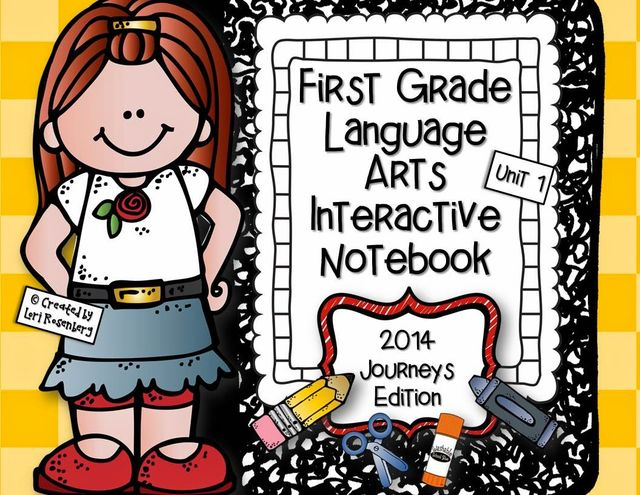 First Grade Interactive Notebooks.