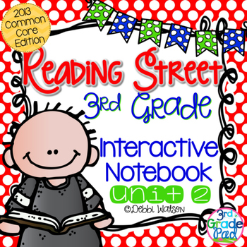 Reading Street 3rd Grade Interactive Notebook by Debbi Watson.