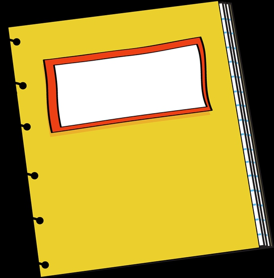 Reading Notebook Clipart#2000238.