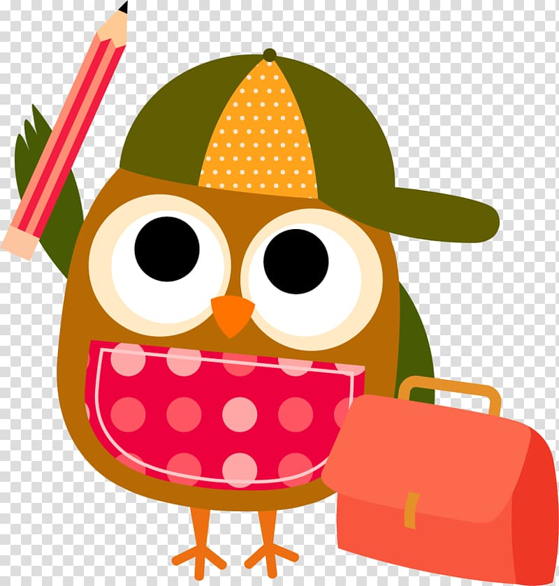 Mathematics Free content , Reading Owl transparent.