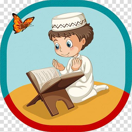 Islam Muslim , Quran Reading transparent background PNG.
