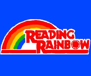 Reading Rainbow Logo.