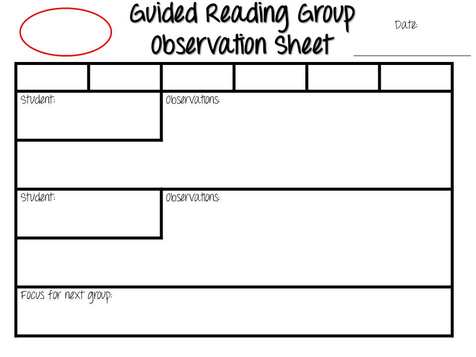 guided reading.