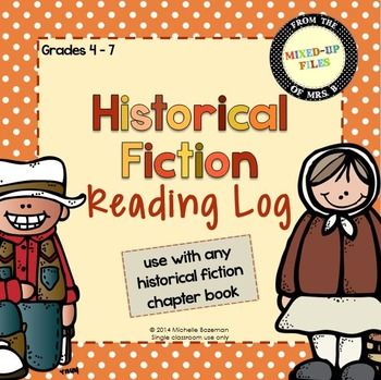 Historical Fiction Reading Response Journal by Mixed.