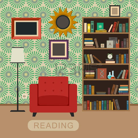 3,011 Reading Room Stock Vector Illustration And Royalty Free.