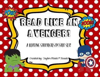 Superhero Reading Strategy Posters.