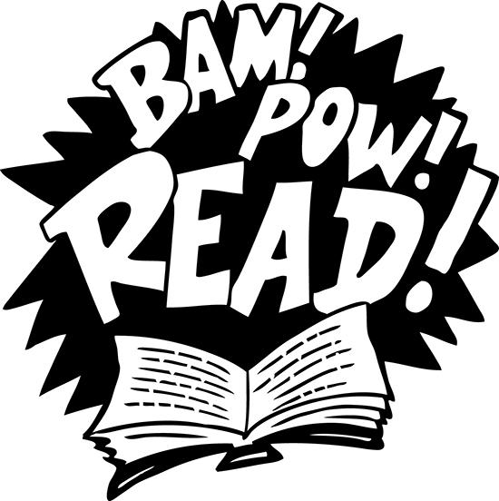 Reading Hero Clipart.