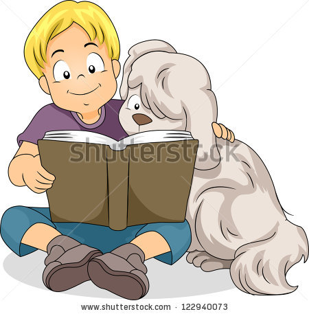 Dog Reading Book Stock Vectors, Images & Vector Art.