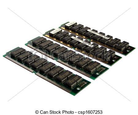 Stock Photos of RAM.