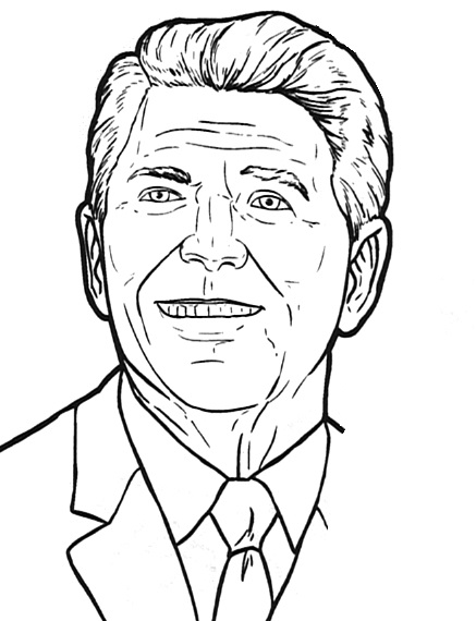 Reagan cliparts.