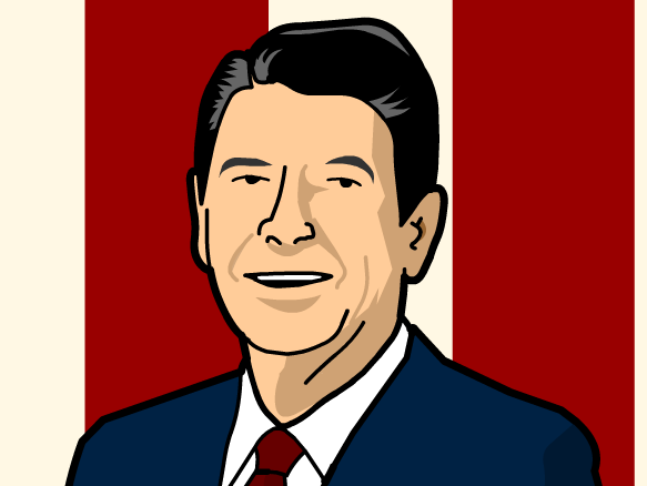 Reagan Clipart.