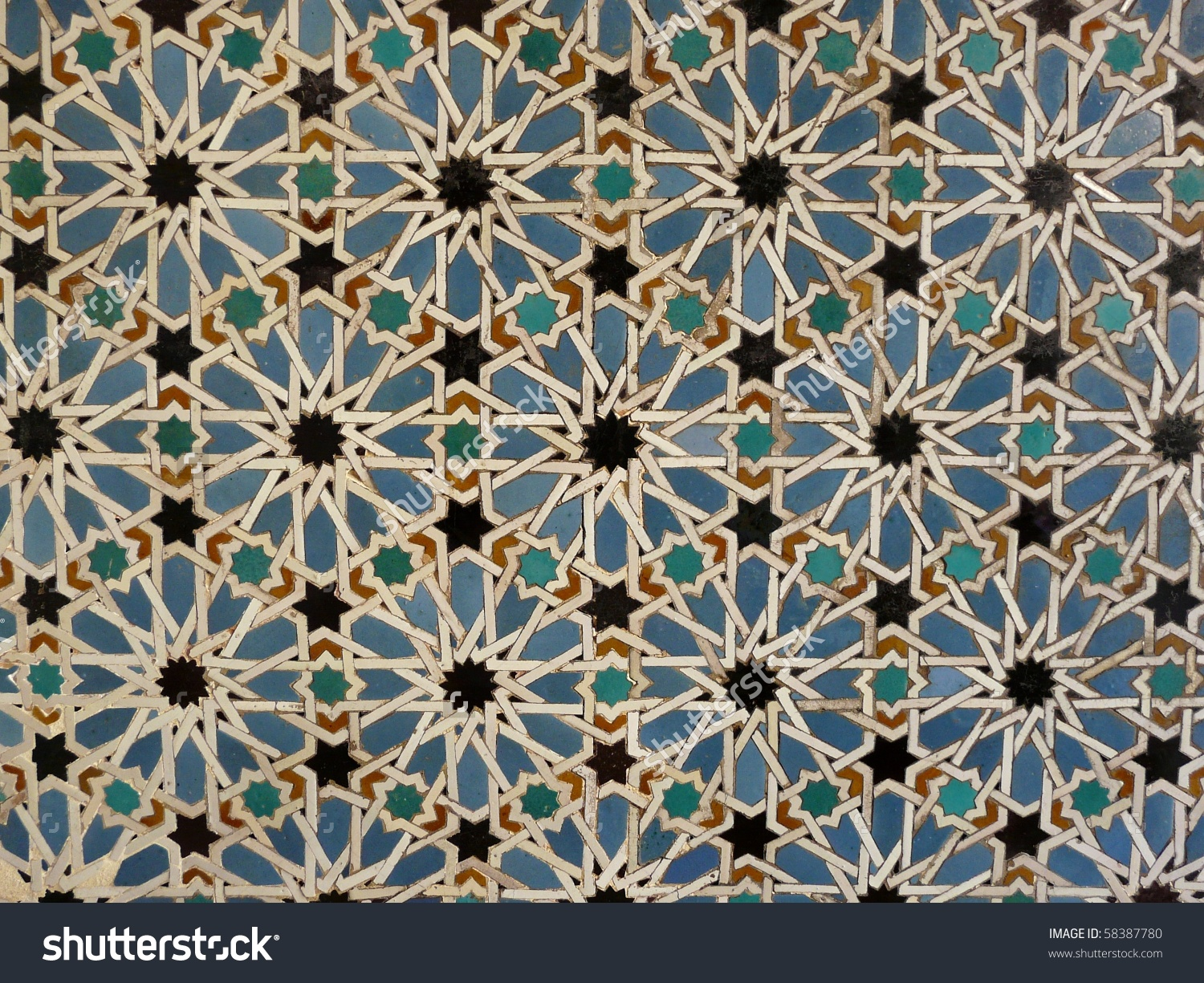 Ceramic Wall Tiles Real Alcazar Seville Stock Photo 58387780.