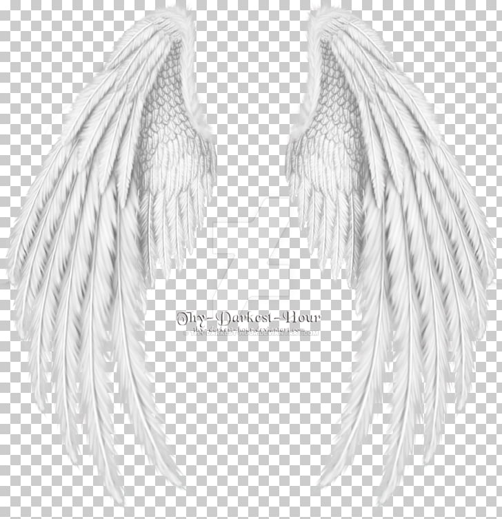 Drawing Angel , angel wings, Thy Darkest Hour wings PNG.