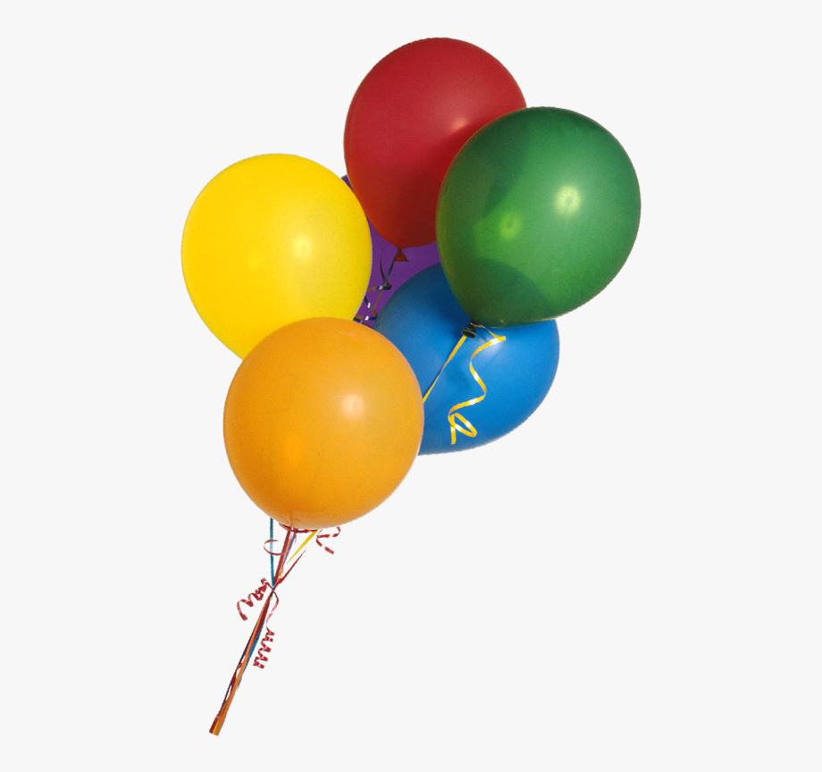 Real Balloons Transparent Background, Cliparts & Cartoons.