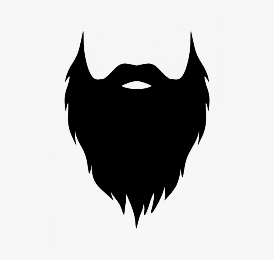 Transparent White Beard Png , Free Transparent Clipart.