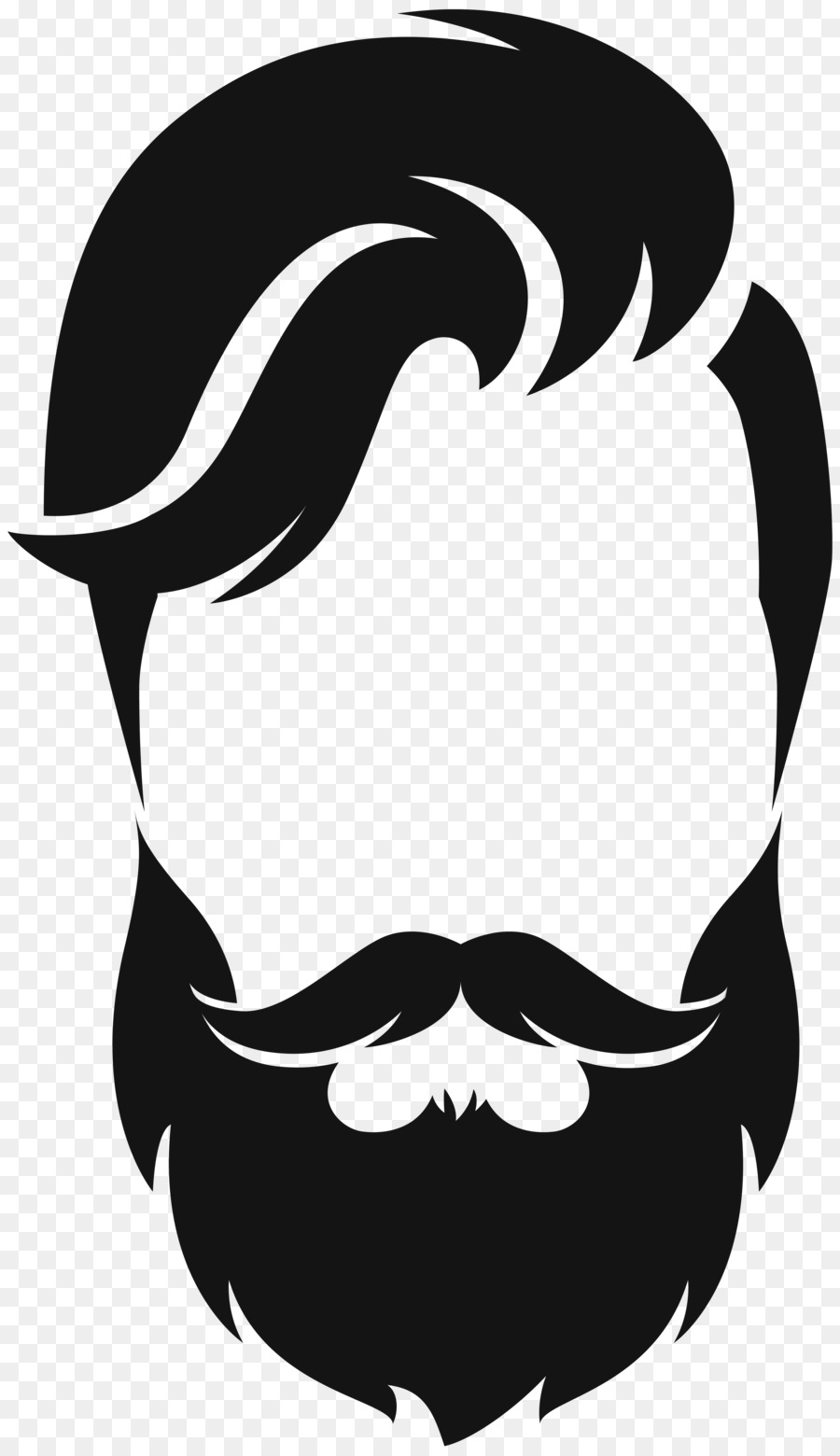 Beard clipart real, Beard real Transparent FREE for download.