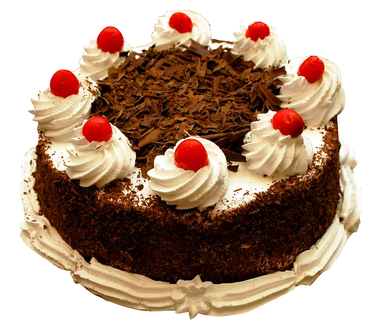 Birthday Cake PNG Image.