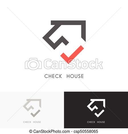 Check house logo.