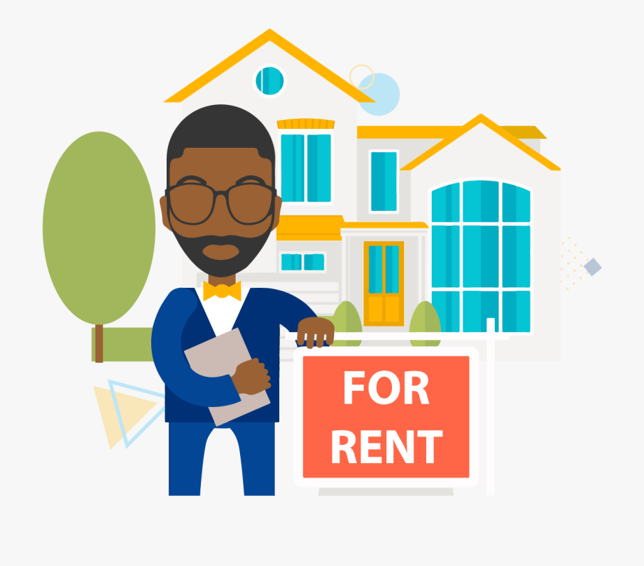 Real Estate Agent Clipart , Transparent Cartoon, Free.