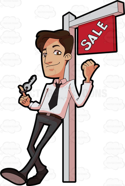 Free Clipart Real Estate Agents.