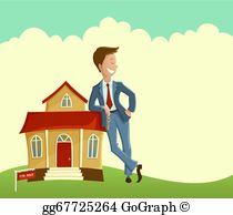 Real Estate Agent Clip Art.
