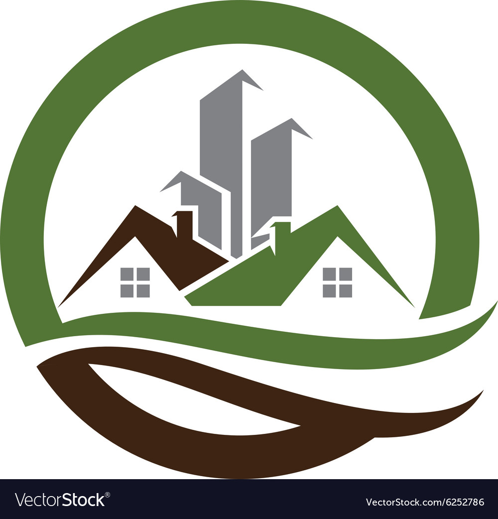 Real Estate property Logo Template.