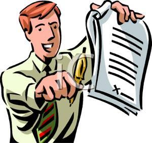 Loan Officer Clipart.