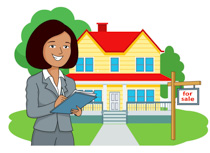 Real estate agent clipart » Clipart Station.