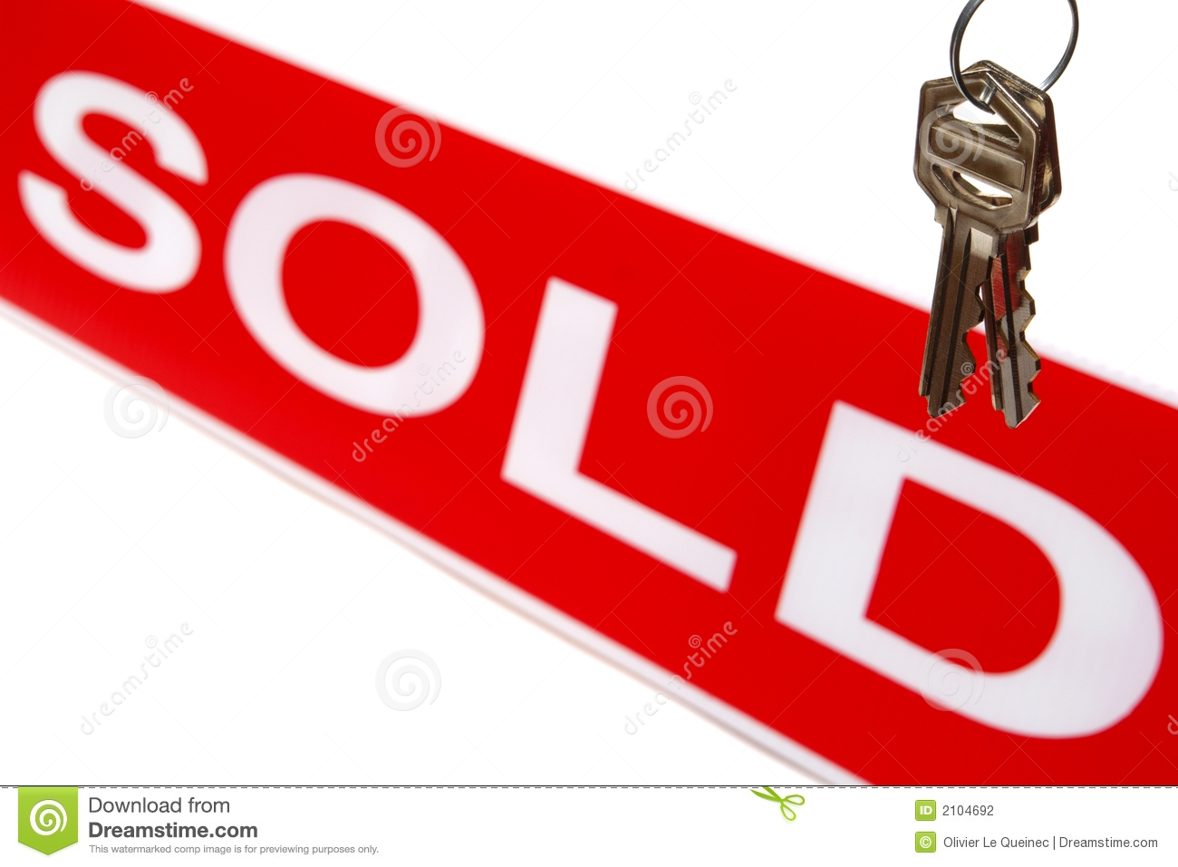 For Sale Sold Key Clipart.