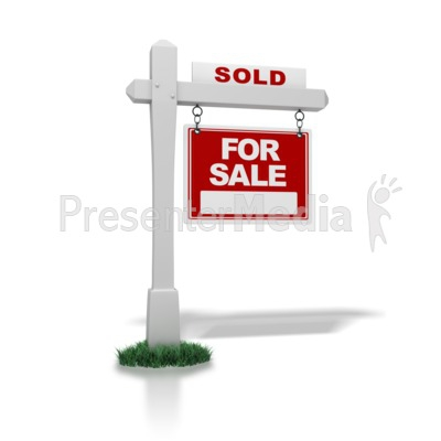 Real Estate Sold Clipart#2046308.