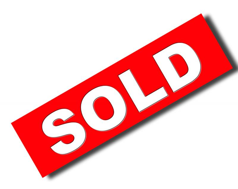 Service Real State Sold Sign Clipart.