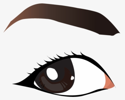 Free Eyebrows Clip Art with No Background.