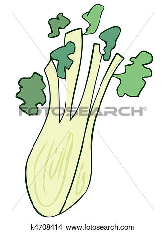 Clipart of Fennel. k4708414.