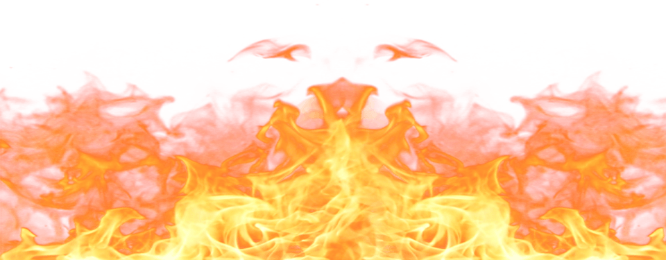 Realistic Flame Cliparts.