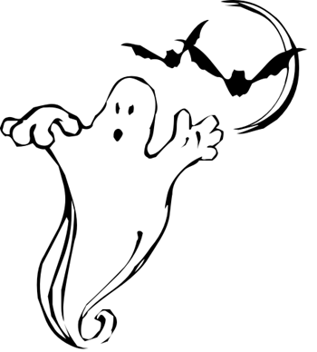 Clip art of real ghost clipart.