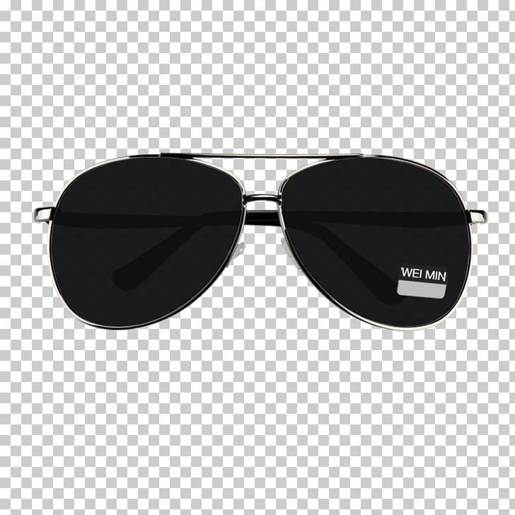 Sunglasses Goggles, Real black sunglasses products PNG.