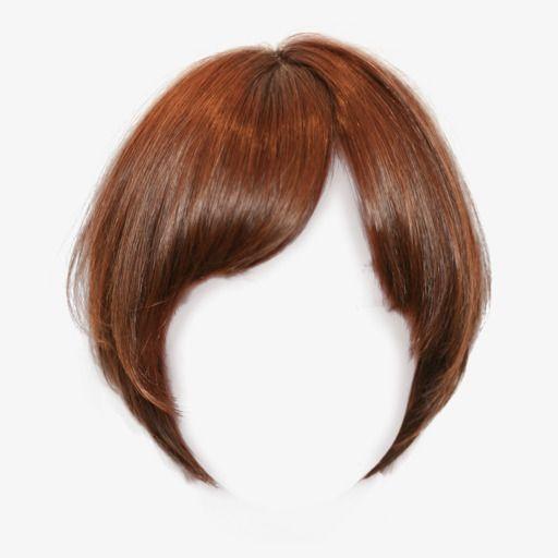 Pull Short Hair Wig Material Free, Short Hair, Wig, Material.
