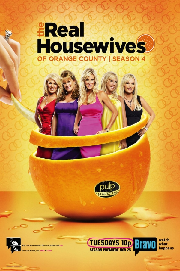 The Real Housewives Font.