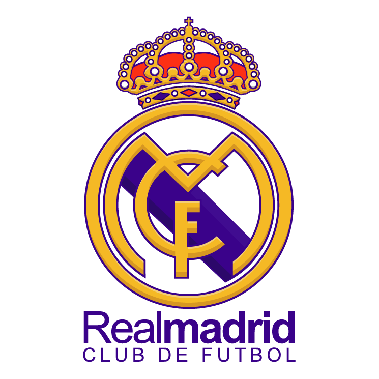 Real madrid black clipart.