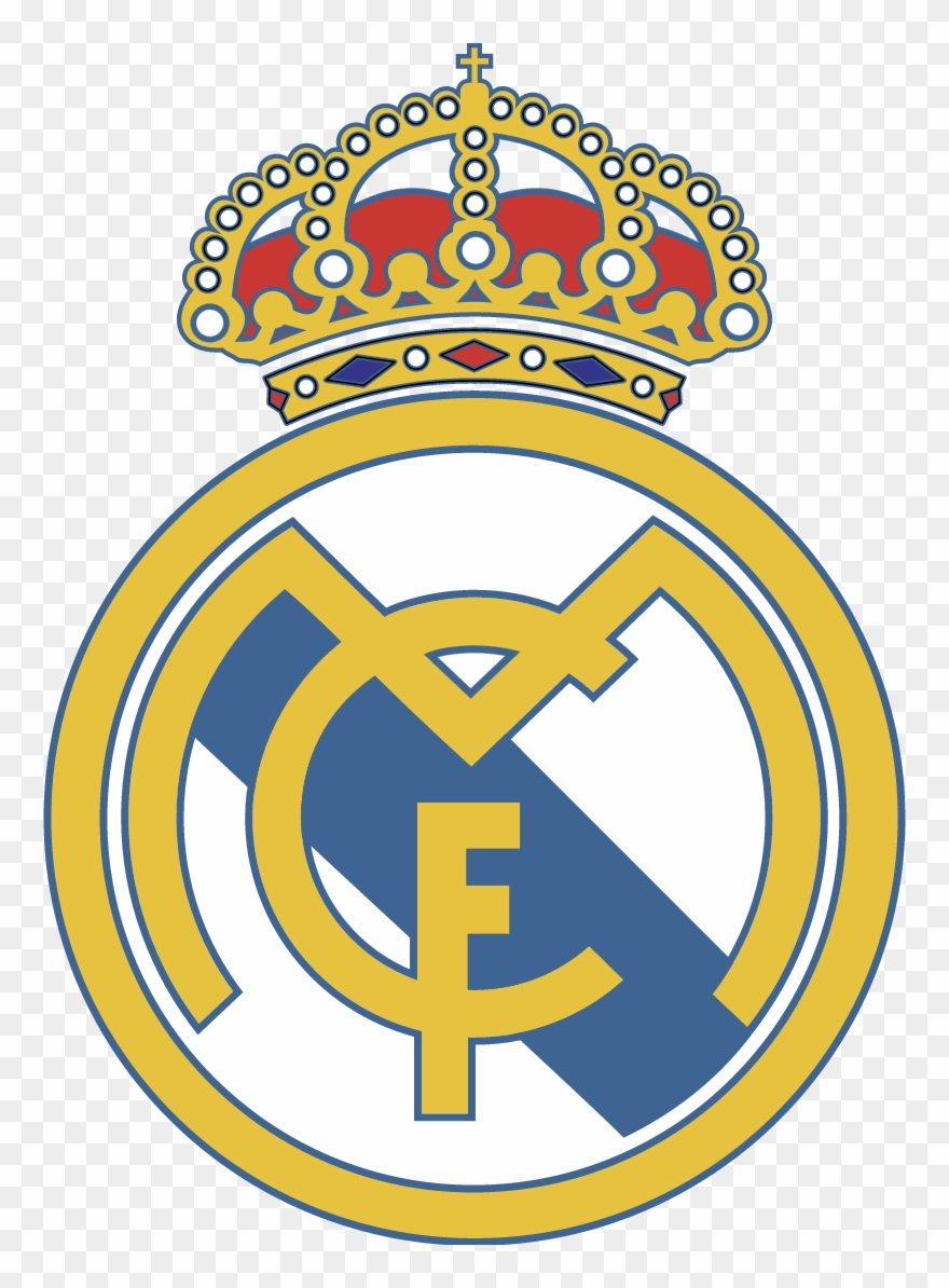 Real Madrid Club De Futbol Vector.