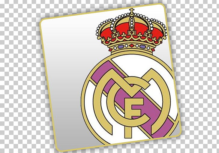 Real Madrid C.F. Dream League Soccer Football Logo Graphics.