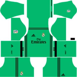 Real Madrid Kit Dream League Soccer.