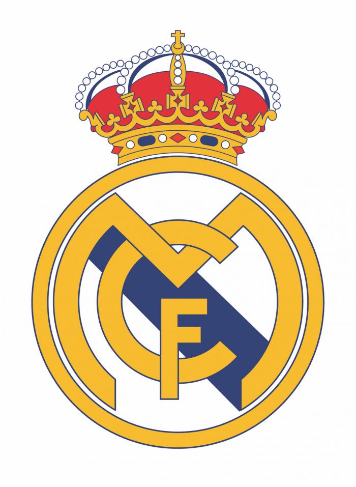 Escudo Real Madrid Png Transparente Vector, Clipart, PSD.