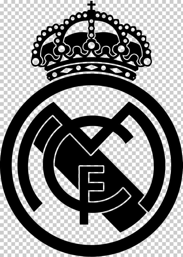Real Madrid C.F. Wall decal Sticker, football PNG clipart.