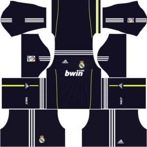 Real Madrid Kits 2010/2011 Dream League Soccer.